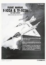 CONVAIR (T)F-102A DELTA DAGGER /  FLIGHT MANUAL - 1971