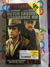 Butch Cassidy and the Sundance Kid (NEW SEALED VHS) Paul Newman Robert Redford