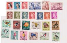 (K71-5) 1966 AU part 25set stamps decimals series 1c to $1 (E)