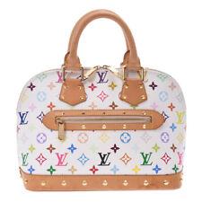 LOUIS VUITTON multicolor Alma Bron (White) M92647 Hand Bag 800000084276000