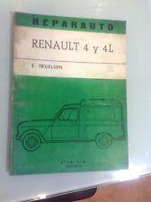 RENAULT 4 4L R4 TL MANUAL DE REPARACION TALLER WORKSHOP REVUE TECHNIQUE