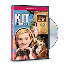 American Girl DVD KIT KITTREDGE Movie Girls Video Cd Disc Historical Doll NEW