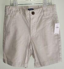 Old Navy Boys Size 6 Straight Built In Flex Twill Shorts Dress Uniform #16721
