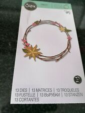 Sizzix Thinlits - Pretty Wreath 662575 - used - exc condition