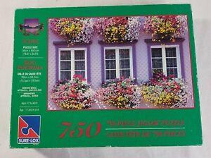 Sure-Lox Window Boxes Appenzell Switzerland 750 Piece Jigsaw Puzzle