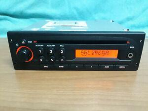 Radio de coche original Renault Kangoo II Twingo MP3 CD stereo autoradio car.