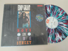 "LP Pop Eddy Grant - Boys In The Street 12"" (3 Song) INTERCORD ICE multi/color v"