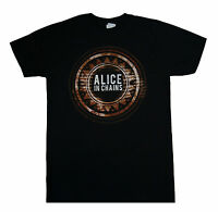 ALICE IN CHAINS - Circle - T SHIRT S-M-L-XL-2XL Brand New - Official T Shirt