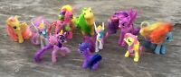 Lot of 8 My Little Pony Unicorns, Ponies + 2 Unbranded (Lot of 10 Total Items)
