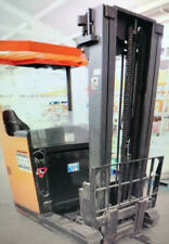 More details for bt forklift  electric reach truck transport stacking  warehouse industrial  rrn1
