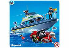 Playmobil 4429 Polizeiboot Police Motorboot Einsatz