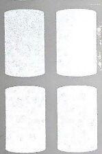 bande casque moto reflechissant autocollant rectangle blanc  PRODUIT ALLEMAND