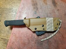 Custom fallkniven S1- kydex sheath. Designed/built by former member of Spec Ops