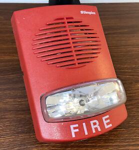 Simplex 4903-9357 Speaker Strobe (Red)