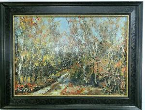Ölgemälde L.W  (Herbst Stimmung in Der Heide )