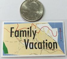 FAMILY VACATION Dimensional Sticker (8pc)Summer•Vacation•Car•Road Trip •Memories