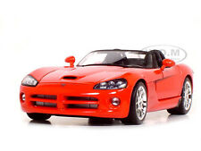 2003 DODGE VIPER SRT-10 1:18 SCALE RED DIECAST MODEL CAR BY MAISTO 31632