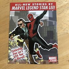 STAN LEE MEETS... Promo Postcard RARE 2006 MARVEL EXCELSIOR! Spider-Man