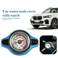 1.1Bar Big Head Temperature Gauge with Thermo Radiator Cap Tank Cover for Car