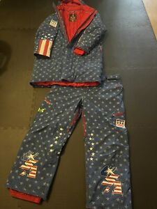 U.S. Winter Olympic Bobsled Team Suit Jacket And Pants Under Armour