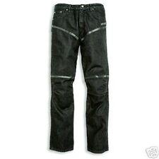 Ducati Jeans Femmes pantalon tech protecteurs jeans trousers Noir Lady NEUF!!!