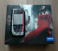 Nokia 7610 - Black/red (Unlocked) Smartphone Boxed Cellular Phone