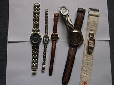 Unbranded Genuine Leather Strap Unisex Wristwatches