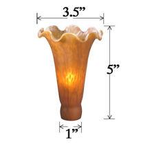 Meyda Tiffany 10162 Amber Replacement Shade