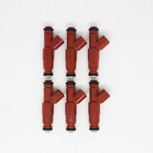 6pcs Fuel Injectors 0280156161 For 99-04 Jeep Wrangler Dodge 4.0L EV6