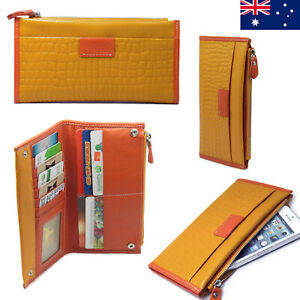 Genuine Leather Ladies Womens Wallet Purse For iPhone 6 7 8 Plus