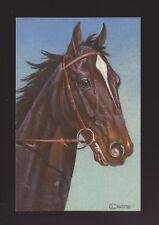 Animals HORSE Artist L Chretien PPC c1940s?