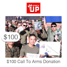 $100 Charitable Donation: Support Active Duty Members & Veterans Through Gaming