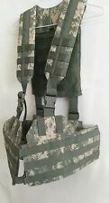 US Army MOLLE II Digital Camo Fight Load Carrier Vest Tactical Paintball Airsoft