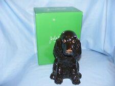 John Beswick Cocker Spaniel Dog Black Money Box Bank NEW JBMBA9