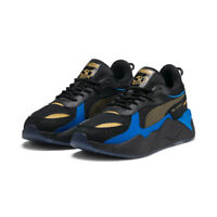 New PUMA RS-X Toys Hotwheels Bone Shaker Sneakers Shoes - Black/Gold(37040401)