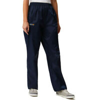 Regatta Womens Pack-It Overtrousers Navy Blue Sports Outdoors Waterproof