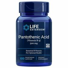 Pantothenic Acid Vitamin B5 100 V caps 500 MG