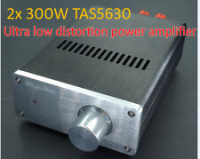 Finished HIFI Digital Tas5630 Stereo Amplifier Class D Amp 300w*2 Ad872 Preamp