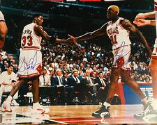 Chicago Bulls Signed Scottie Pippen  & Dennis Rodman 16x20 Photo 1on 1 Inc