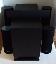 SONY 5.1 Set SS-CTB103 SS-TSB106 SS-TSB107 SS-WSB105 Surround Speakers w/Wires