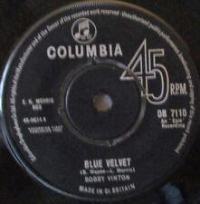 """BOBBY VINTON - Blue Velvet - 7"""" Single"""