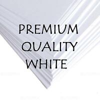 A3 A4 A5 A6 WHITE CRAFT CARD MAKING STOCK BLANK TAGS PAPER PRINTER 120 - 300 gsm