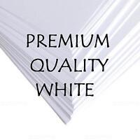 PREMIER A3 A4 A5 WHITE CRAFT DECOUPAGE QUALITY CARD BLANKS PAPER PRINTER 300gsm