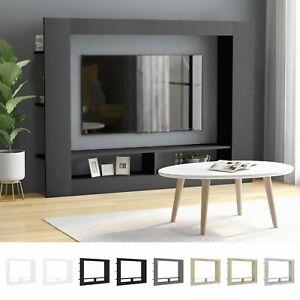 TV Schrank Spanplatte Wohnwand Medienwand Anbauwand mehrere Auswahl 152 x 113 cm