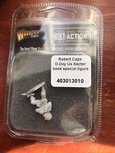 Warlord Bolt Action Robert Capa Figure B