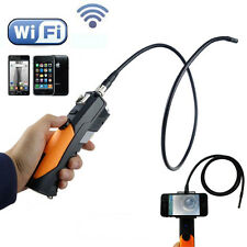 WIFI Endoscope Inspection Camera 1M Pipe Tube For IOS iPhone Android 2MP 5.5mm