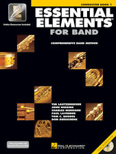 Essential Elements for Band: Conductor Book 1 with EEi and Online Media 862565