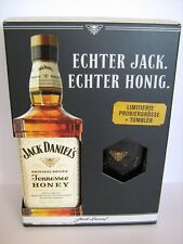 ( 1 Liter = 64 € )   Jack Daniels  Honey 0,35 L.  +  Glas  - SET -