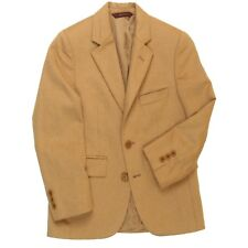 Brooks Brothers Boys Beige 100% Camel Hair Sport Coat Blazer Sz 8 R Retail $210