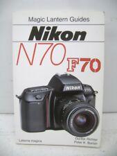 NIKON N70 F70 MAGIC LANTERN GUIDE, FREE SHIPPING